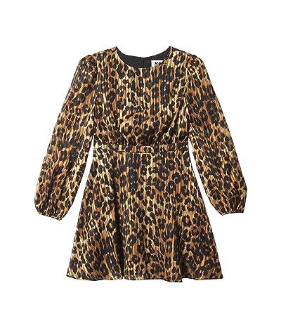 Milly Minis Elma Cheetah Burnout Dress (Big Kids) Girl