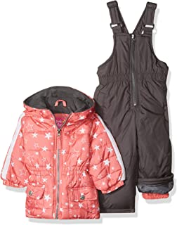 Pink Platinum Baby Girls' Printed Super Snowsuit