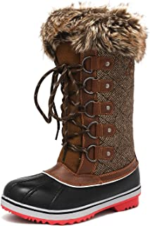Women's Mid-Calf Winter Snow Boots