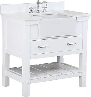 Best 36 inch farmhouse bathroom vanity Reviews