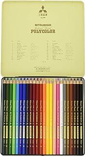 三菱鉛筆 色鉛筆 ポリカラー No.7500 24色 K750024C