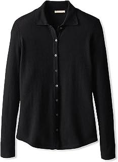 Cashmere Addiction Suéter de Camisa para Mujer
