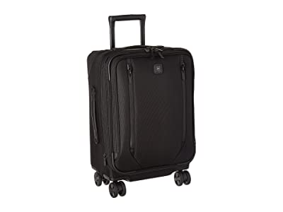 Victorinox Lexicon 2.0 Dual-Caster Global Carry-On (Black) Carry on Luggage