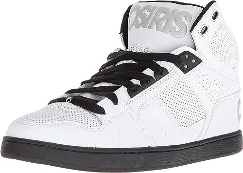 Osiris Chaussures Athlétiques Couleur Noir blanc noir argent Taille   5 Us
