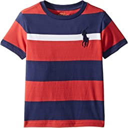Striped Cotton Jersey T-Shirt (Toddler)