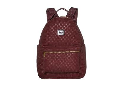 Herschel Supply Co. Nova Mid-Volume (Plum Dot Check) Backpack Bags