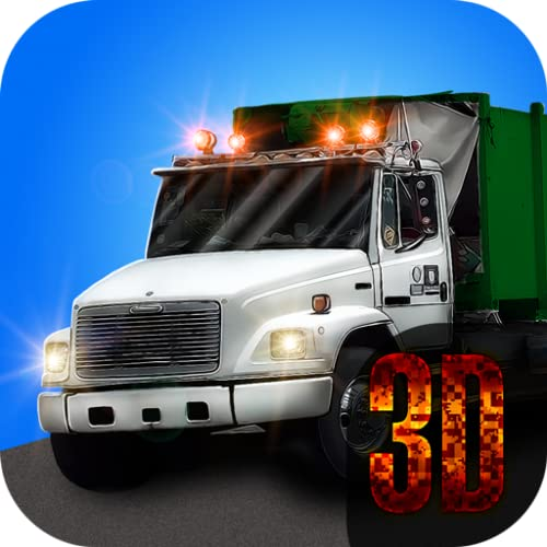 Garbage Truck 3D: Clean the City
