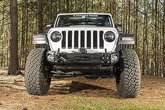 Rugged Ridge 11549.04 Arcus Front Bumper, w/Winch Tray & Tow Hooks, 18-19 Jeep JL/JT