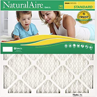 NaturalAire Standard Air Filter, MERV 8, 24 x 24, 1-inch, 12-Pack