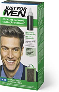 Just For Men Just For Men Tinte Colorante En Champu Para El Cabello Del Hombre. Castaño Medio 120 G