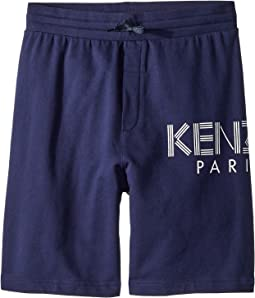 Kenzo Kids - Logo Shorts (Big Kids)