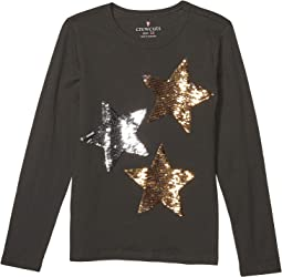 Black Sequin Stars