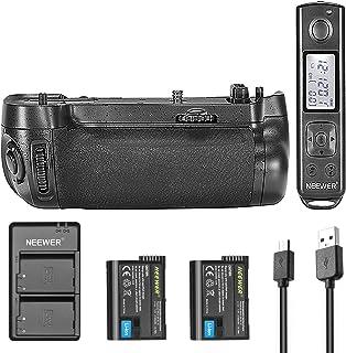 BestLight Empuñadura de Batería Vertical con Control Remoto de 2.4GHz Incorporado para Cámara A6300 Sony con 2 Piezas 1100mAh Li-ion Reemplazo para FW50 Sony y 5V/2.1A USB Entrada kit Cargador Doble