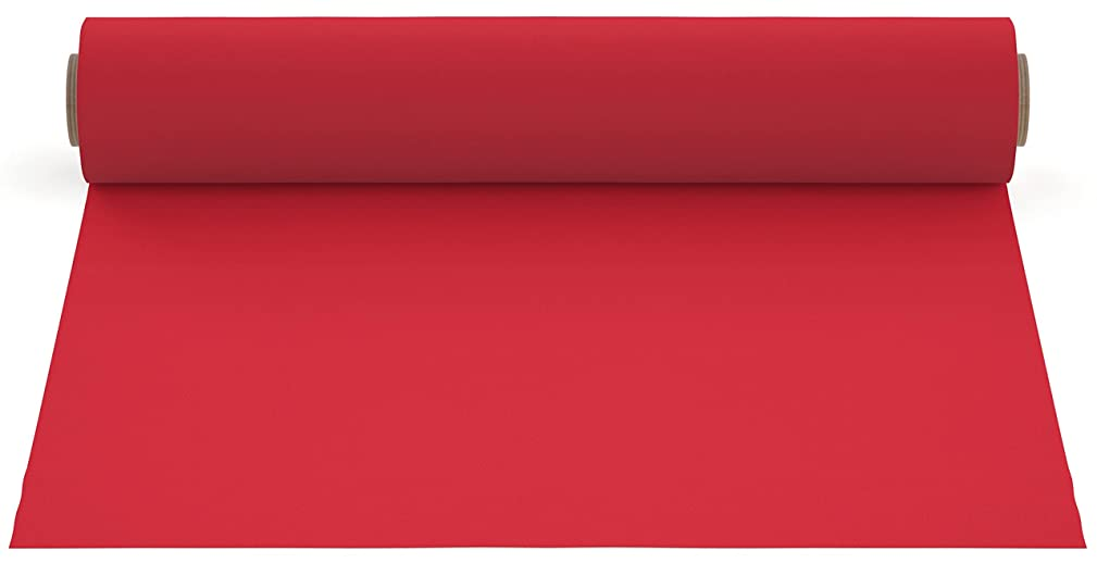 Firefly Craft Heat Transfer Vinyl For Silhouette And Cricut, 12 Inch by 20 Inch, Red