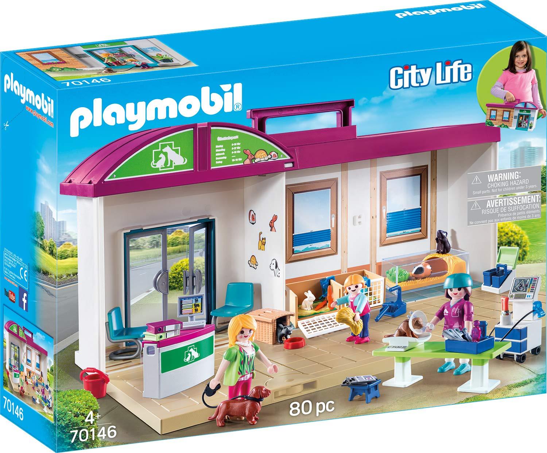 PLAYMOBIL- City Life Figuras y Juegos de contrucción, Color carbón ...
