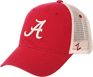 ZHATS Alabama Crimson Tide A Red University Mesh Trucker Adult Mens/Boys Unstructured Relaxed Adjustable Baseball Cap/Hat