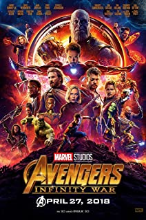 "Posters USA Marvel Avengers Infinity War Movie Poster GLOSSY FINISH - FIL754 (24"" x 36"" (61cm x 91.5cm))"