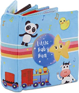 MGA Entertainment Little Baby Bum Singing Storybook Official Nursery Rhyme Song Soft Book by Little Tikes