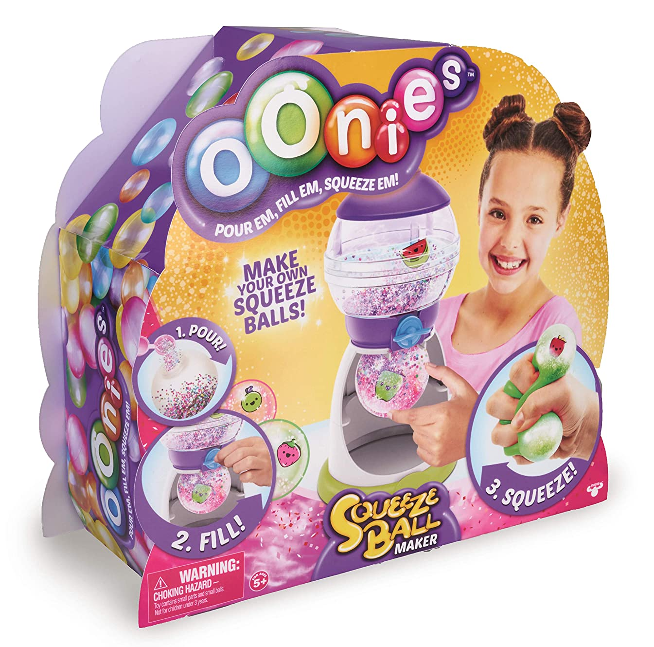 Oonies Squeeze Center, for Boys and Girls Ages 5+, Multi-Colour, Famous 700015405