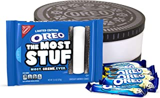 Oreo The Most Stuf Cookie Collectors Set with Cookies 'n Crème Chocolate Candy Bars and Collectible Gift Box