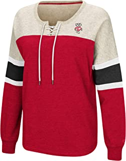 Colosseum Auburn Tigers Women's NCAA Greatness Oversized Lace Up Sweatshirt