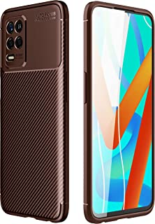 TingYR Case for Realme 8 5G, Ultra Slim Flexible TPU Shock Absorption, Anti-Scratch, Premium Flexible Rubber Cover, Cover ...