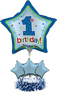 Creative Converting 268810 Balloon Centerpiece Kit, One Size, Blue