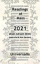 Mass Readings 2021 (Australia & New Zealand) (Mass Readings Australasia Book 2)