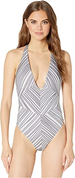 Motion Of The Ocean Plunge Front One-Piece Swimsuit