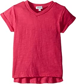 Splendid Littles Always Basic Short Sleeve Tee (Big Kids)