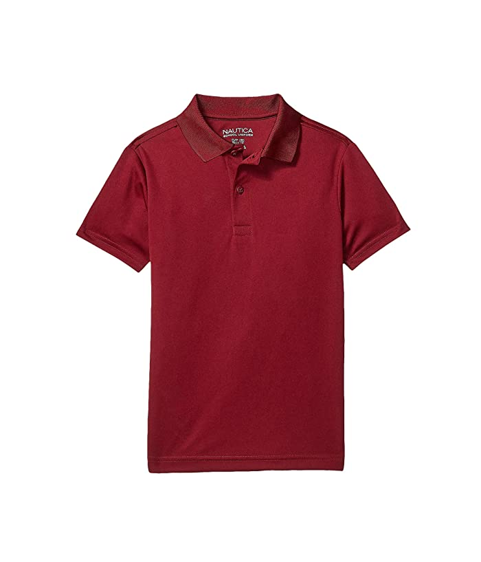 Nautica Kids Short Sleeve Performance Polo Big Kids