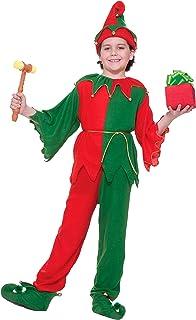 Forum Novelties Santa's Elf Costume, Child Large