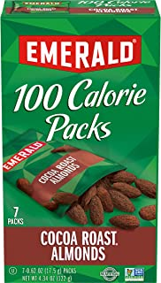 Emerald Nuts Cocoa Roast Almonds, 100 Calorie Packs, 7 Count