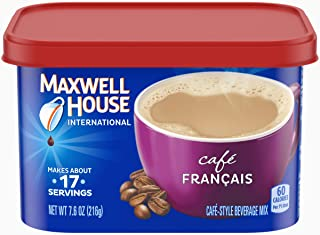 Maxwell House International Cafe Francais Instant Coffee (7.6 oz Canisters, Pack of 4)