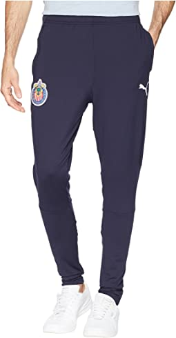 Chivas Training Zip Pants with Two Side Pockets