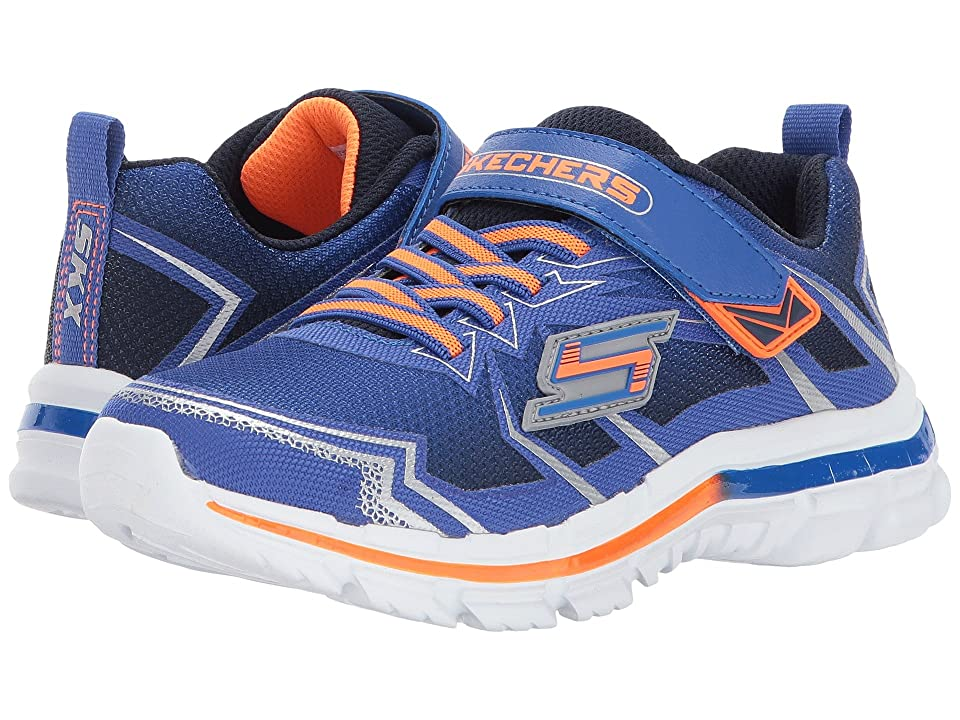 SKECHERS KIDS Nitrate 95370L (Little Kid/Big Kid) (Blue/Navy) Boy