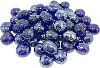 KITCHINDRA DR Pebbles Decorative Stones for Home Decor (Dark Blue Chapta, 950g)
