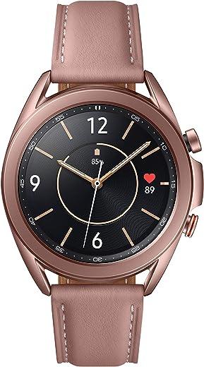 Samsung Galaxy Watch3 (41mm, GPS, Bluetooth, Unlocked LTE), Mystic Bronze (US Version)