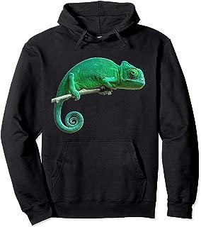 Chameleon Hoodie Sweatshirt Lizard Shirt Reptile Hoodie