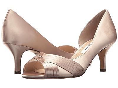 Nina Contesa (Champagne Crystal Satin) High Heels
