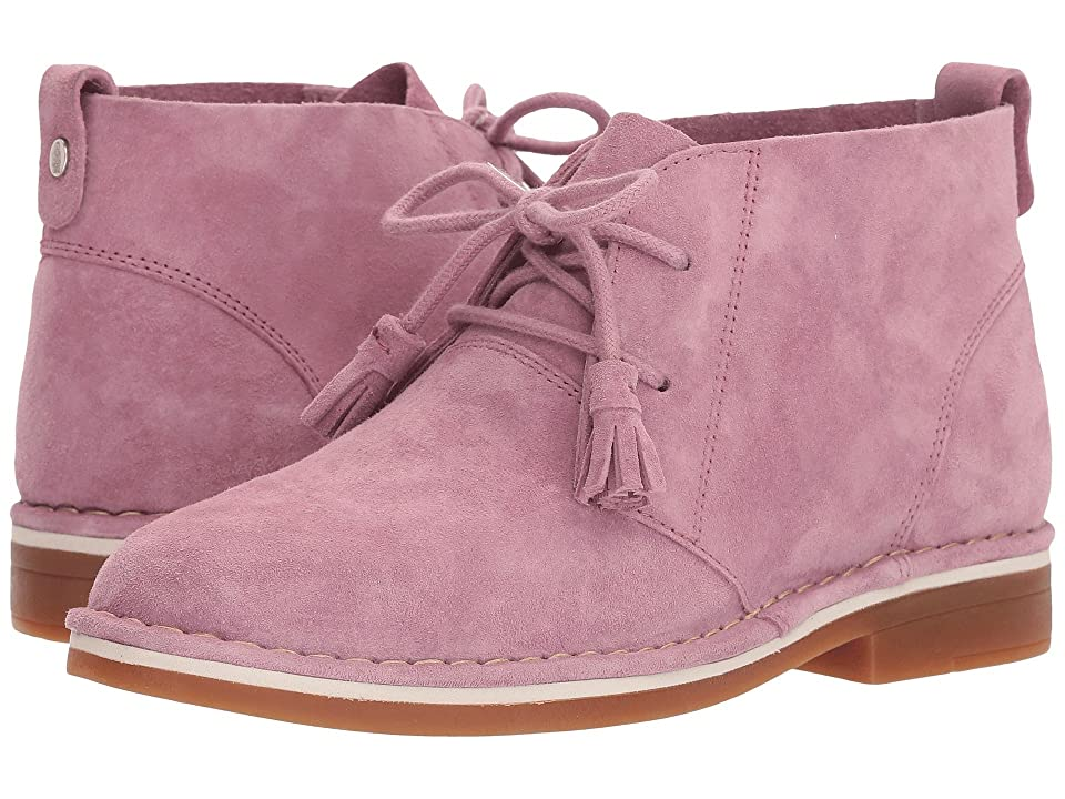 Hush Puppies Cyra Catelyn (Dusty Orchid Suede) Women