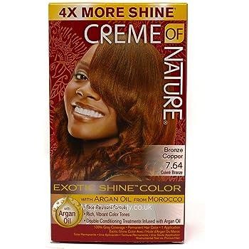 Creme of Nature Nourishing Permanent Hair Color: 6.4 Bronze Copper