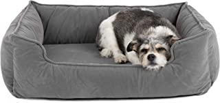 Petsbao Premium Orthopedic Dog Bed & Lounge with Solid Memory Foam   Waterproof Liner   Washable Removable Cover   Superior Comfort to Ease Pain of Arthritis & Hip Dysplasia