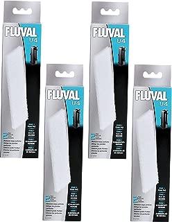 (4 Pack) Fluval U4 Underwater Filter Foam Pads, 2 Pads each