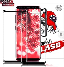 Gozhu [2-Pack] Galaxy S8 Screen Protector Tempered Glass,[Anti-Fingerprint][No-Bubble][Scratch-Resistant] Glass Screen Protector for Samsung Galaxy S8