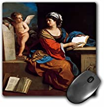 3dRose BLN Book and Reading Featured in Fine Art – The Cumaean Sibyl, 1651 by Guercino Giovanni Francesco Barbieri – MousePad (mp_170906_1)