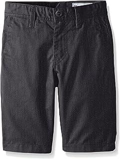 Volcom Boys' Big in Cotton Twill Chino Shorts