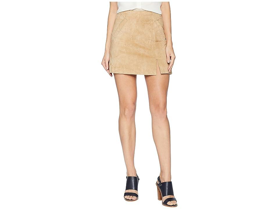 Blank NYC Suede Mini Skirt with Side Slit in Venice Beach (Venice Beach) Women