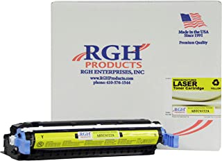 RGH Products(TM) Remanufactured ABTC9722A Yellow Toner Cartridge, Replacement for HP 641A C9722A for use HP Laserjet 4600/4650 C9722A Series