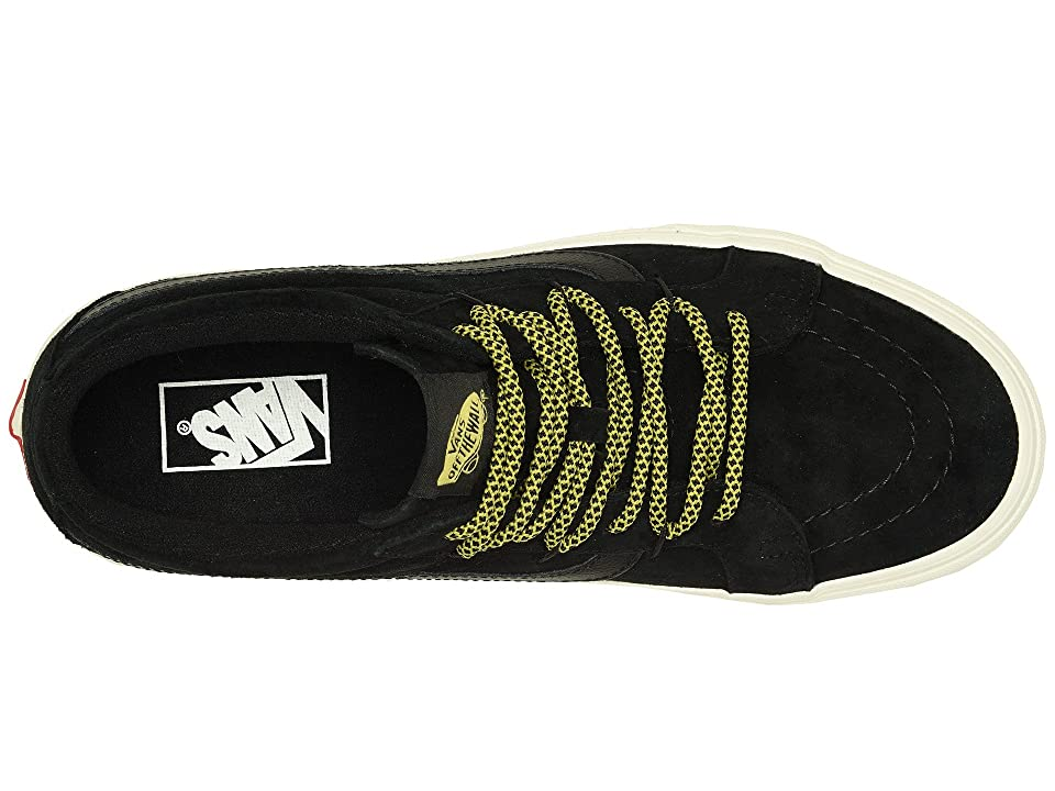 Vans SK8-Mid Reissue Ghillie MTE ((MTE) Black/Marshmallow) Skate Shoes
